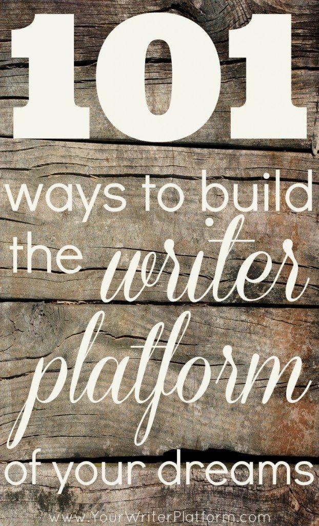 build writer platform