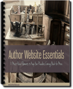 Author Website Essentials Cover | YourWriterPlatform.com