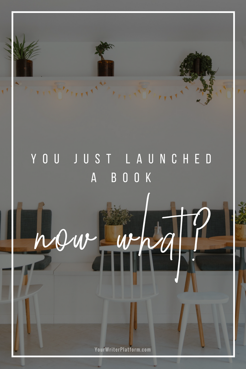 You Just Launched a Book. Now What_ YourWriterPlatform.com