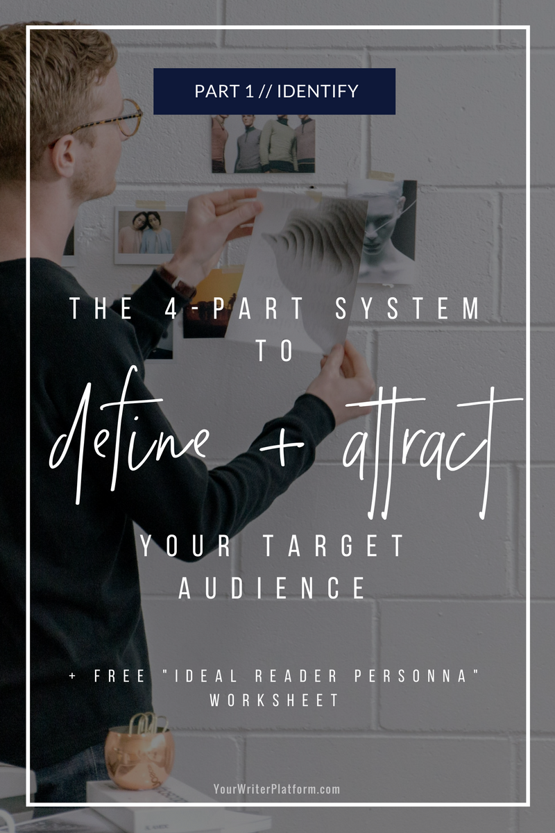 The 4-Part System to Define and Attract your Target Audience_ Part 1 Identify _ YourWriterPlatform.com