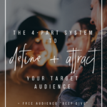 The 4-Part System to Define and Attract your Target Audience _ YourWriterPlatform.com