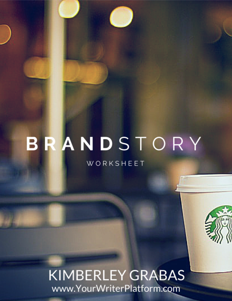 Brand Story Worksheet | YourWriterPlatform.com