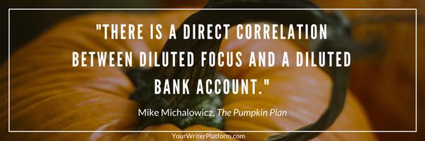 pumpkin plan | YourWriterPlatform.com