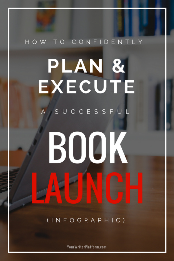 How to confidently plan and execute a successful book launch how to confidently plan and execute a successful book launch infographic your writer platform malvernweather Image collections