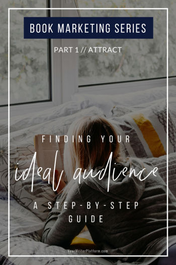 Finding Your Ideal Audience: A Step-by-Step Guide [Book Marketing Series Part 1: Attract] | YourWriterPlatform.com