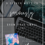 Email List Building: 9 Clever Ways to Seriously Grow Your List (for Authors)