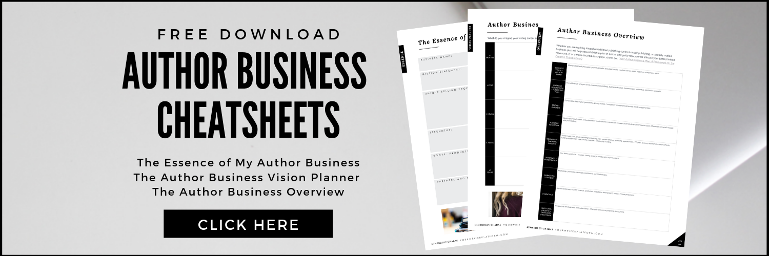 Author Business Cheatsheets (Free Download)